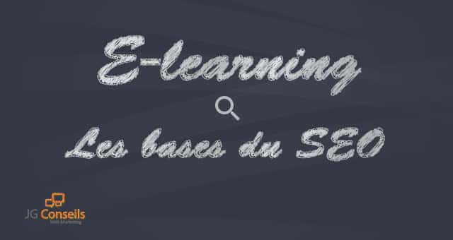 E-learning – Les bases du SEO