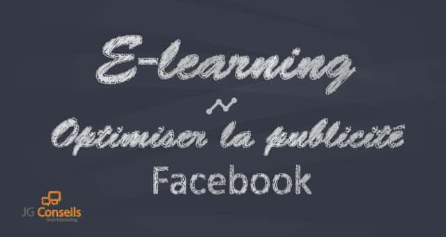 E-learning – Pub Facebook